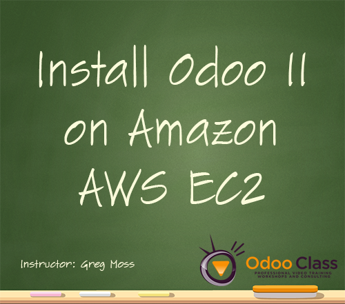 Install Odoo 11 on Amazon AWS EC2
