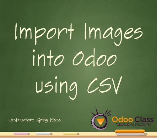 Import Images into Odoo using CSV