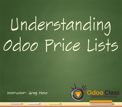 Understanding Odoo Price Lists v11