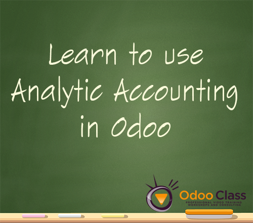 Analytic Accounting in Odoo 8