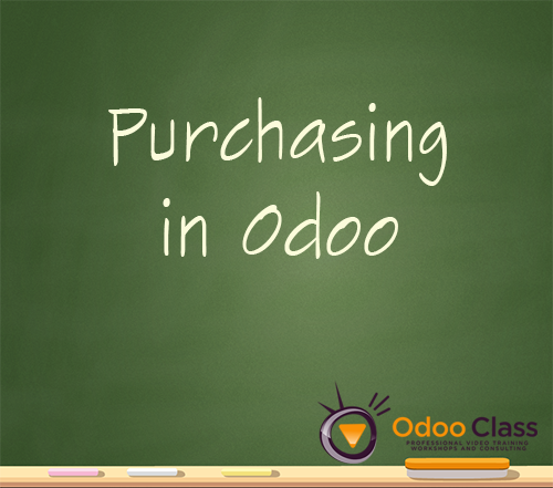 Purchasing in Odoo
