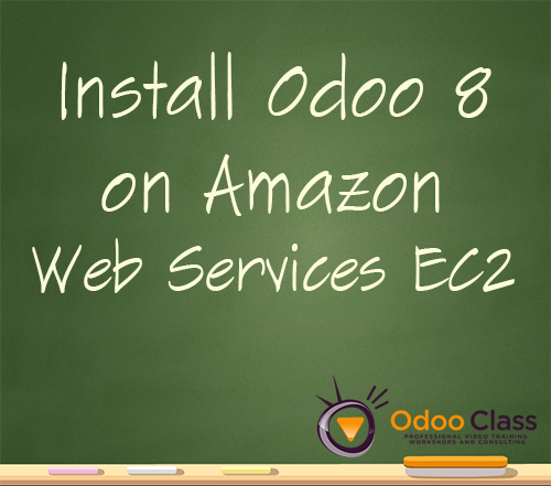 Install Odoo 8 on Amazon Web Services EC2
