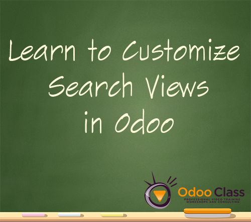 Learn to Customize Search Views in Odoo