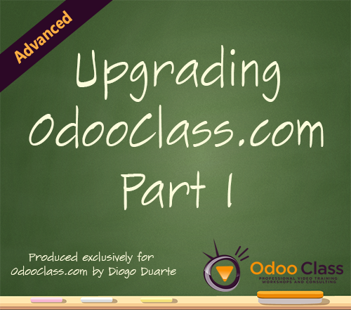 Upgrading OdooClass.com Part 1