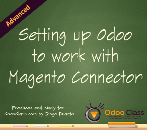 Setting up Odoo to work with Magento Connector
