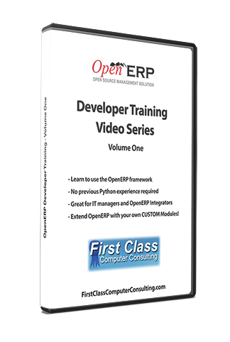 Odoo / OpenERP - Developer Training Volume One