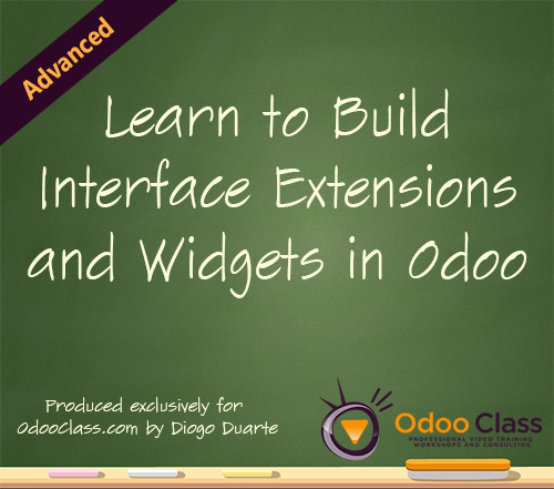 Learn to Build Interface Extensions and Widgets in Odoo
